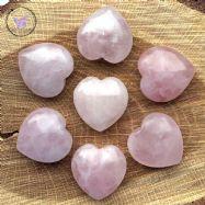 Rose Quartz Hearts